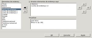 Figura 05 - Editar bloco de endereço