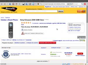 Celular mais caro do mundo - Sony Ericsson Z550